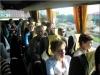 Uczetnicy wyjazdu siedzący w autobusie